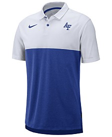 Nike Men's Air Force Falcons Dri-Fit Colorblock Breathe Polo
