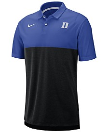 Nike Men's Duke Blue Devils Dri-Fit Colorblock Breathe Polo