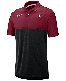 Nike Men's Stanford Cardinal Dri-Fit Colorblock Breathe Polo