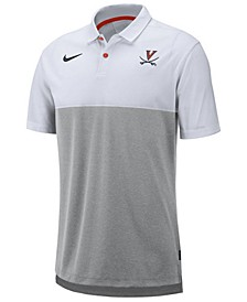 Men's Virginia Cavaliers Dri-Fit Colorblock Breathe Polo