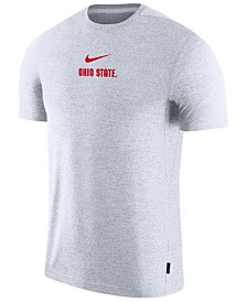 Nike Men's Ohio State Buckeyes Dri-FIT Coaches Top