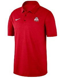 Nike Men's Ohio State Buckeyes Dri-FIT Breathe Polo
