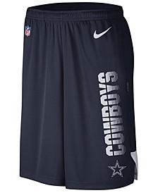 Men's Dallas Cowboys Player Knit Breathe Shorts