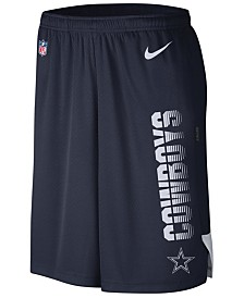 Nike Men's Dallas Cowboys Player Knit Breathe Shorts