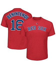 Men's Andrew Benintendi Boston Red Sox Official Player T-Shirt