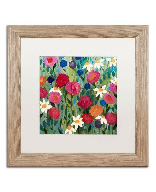 """Trademark Global Carrie Schmitt 'Meant to Be' Matted Framed Art - 16"""" x 16"""""""
