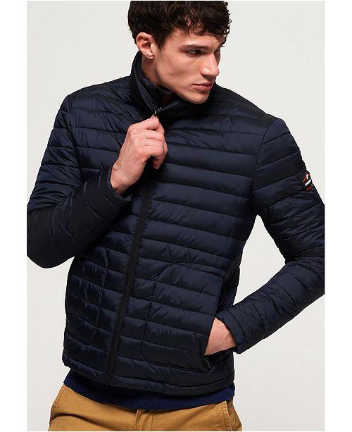 Superdry Fuji Double Zip Vest Men's Gilets