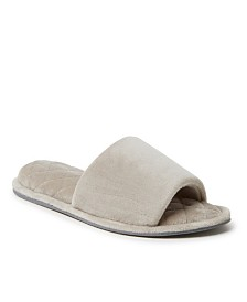 Dearfoams Women's Microfiber Slide Slipper, Online Only