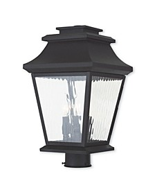 CLOSEOUT!   Hathaway 3-Light Outdoor Post Lantern
