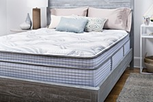 "Panorama 14.5"" Plush Super Pillow Top Mattress- Queen"