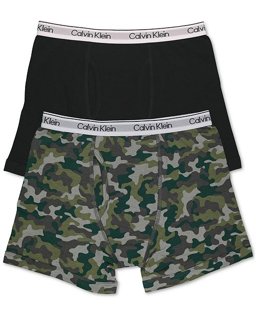 Calvin Klein Big Boys 2-Pk. Boxer Briefs
