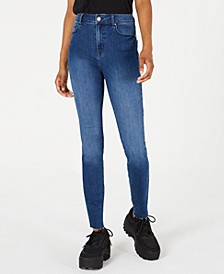 Juniors' High-Waist Skinny Jeans