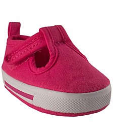 Baby Girl Canvas T-Strap Sneaker