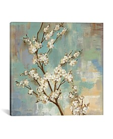 """Kyoto Blossoms Ii by Silvia Vassileva Gallery-Wrapped Canvas Print - 26"""" x 26"""" x 0.75"""""""
