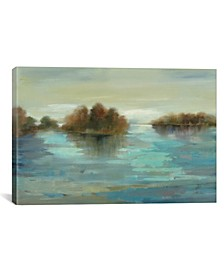 """Serenity on The River by Silvia Vassileva Gallery-Wrapped Canvas Print - 12"""" x 18"""" x 0.75"""""""