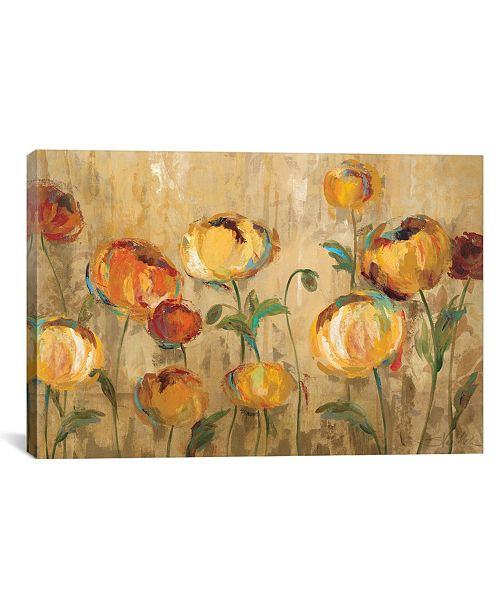"iCanvas Joyful Ranunculi by Silvia Vassileva Gallery-Wrapped Canvas Print - 12"" x 18"" x 0.75"""
