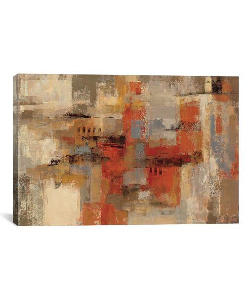 "iCanvas City Wall by Silvia Vassileva Gallery-Wrapped Canvas Print - 12"" x 18"" x 0.75"""