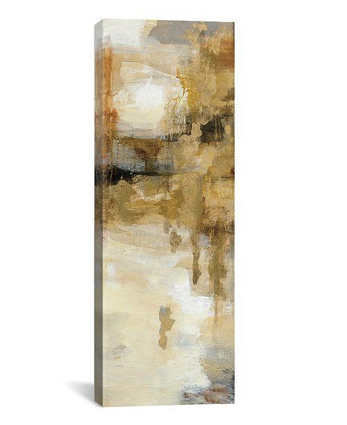"iCanvas On The Bridge Ii by Silvia Vassileva Gallery-Wrapped Canvas Print - 36"" x 12"" x 0.75"""