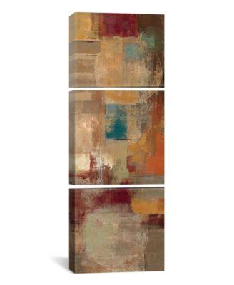 "Oriental Trip Panel Ii by Silvia Vassileva Gallery-Wrapped Canvas Print - 36"" x 12"" x 1.5"""