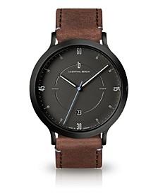 Zeitgeist Automatik Light Brown Leather Watch 42mm