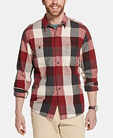 Men's Bull Twill Plaid Shirt