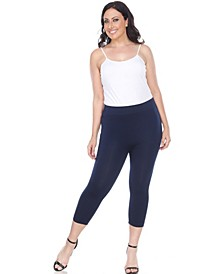 Plus Size Super Soft Capri Leggings