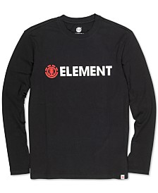 Element Men's Blazin Logo Graphic T-Shirt