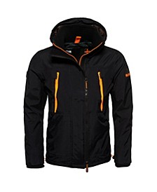 Hooded Technical Pop Zip Sd-Windcheater