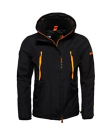 Superdry Hooded Technical Pop Zip Sd-Windcheater