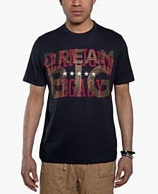 Sean John Men's Beaded Dream Big T-Shirt