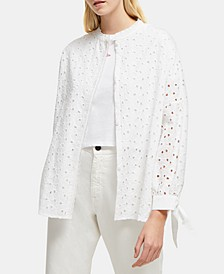Cotton Bodi Embroidered Shirt