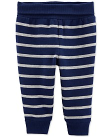 Carter's Baby Boys Striped Fleece Pants