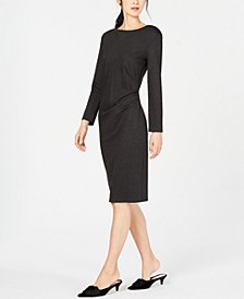Gianni Side-Ruched Dress