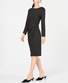 Weekend Max Mara Gianni Side-Ruched Dress
