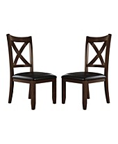 Leather Kitchen & Dining Room Chairs - Macy\'s
