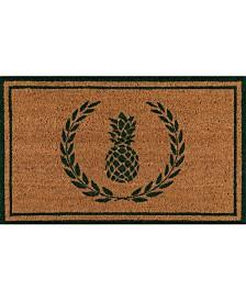 "Erin Gates Park Par-1 Pineapple Green 1'6"" x 2'6"" Area Rug"