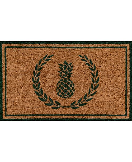 "Erin Gates Park Par-1 Pineapple Green 1'6"" x 2'6"" Area Rug"