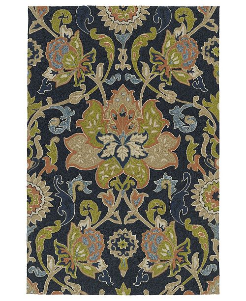 Kaleen Home and Porch 2042-22 Navy 3' x 5' Area Rug