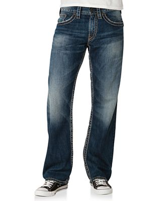 Silver Jeans Denim, Zac Flap Relaxed Fit Straight Leg Jean - Jeans ...