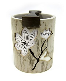 Magnolia Floral Toothbrush Holder