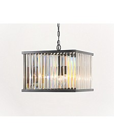 Zula Square Crystal Chandelier
