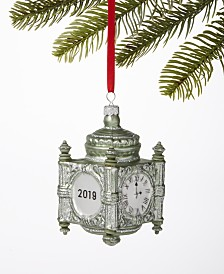Holiday Lane Chicago State Street Clock Ornament Created For Macy's