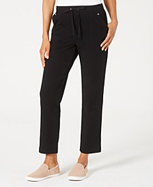 Petite French Terry Pants, Created for Macy's