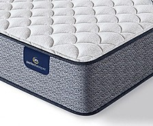 "Perfect Sleeper Elkins II 10"" Plush Mattress- Queen"