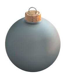 "Whitehurst 3.25"" Glass Christmas Ornaments - Box of 8"