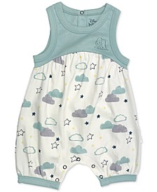 Baby Girls Dumbo Cotton Romper