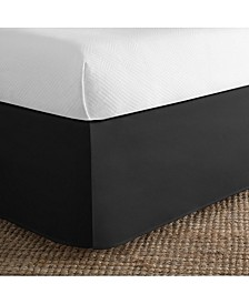 Cotton Blend Tailored King Bed Skirt