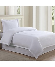 Lux Hotel Baratta Embroidered 3-Pc. King Duvet Set