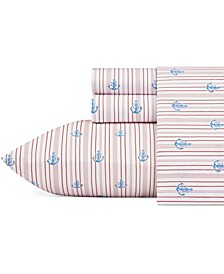 Cotton Percale Sheet Set, King