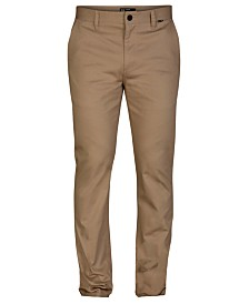 Hurley Men's Slim-Fit Stretch Chino Pants